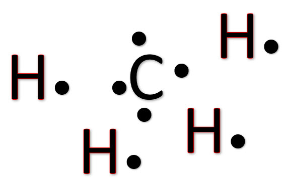 ch4 lewis structure [w free video guide] Dot Structure of Methane ch4 puzzle