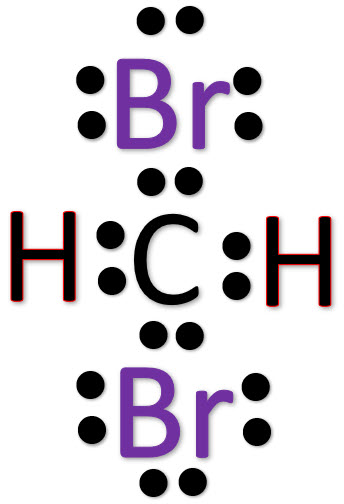 ch2br2 lewis structure w free video guide rh biochemhelp com lewis dot diagram for ch2br2